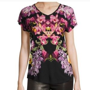 Ted Baker London Templi Lost Gardens Top size 12